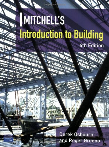 Introduction to Building (Mitchells Building Series) By Roger Greeno