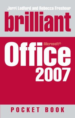 Brilliant Microsoft Office 2007 Pocketbook By Jerri L. Ledford