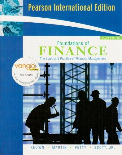 Foundations of Finance By Arthur J. Keown