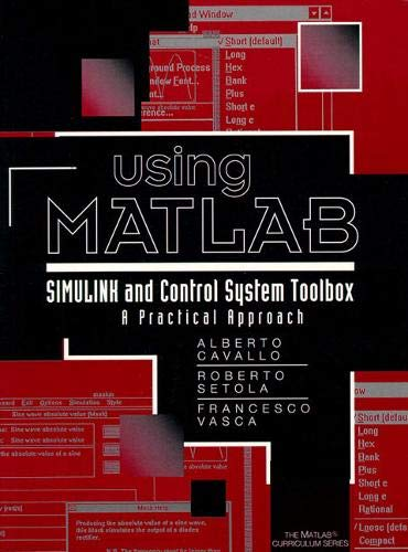 Using Matlab Simulink Control Toolbox By A. Cavallo
