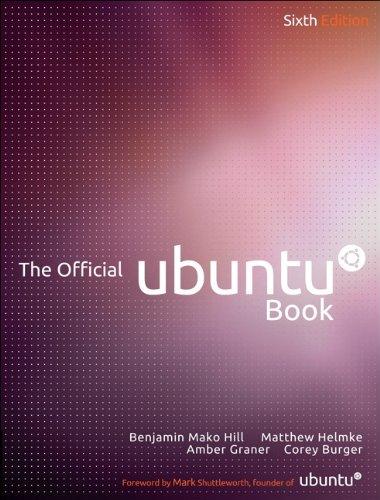 The Official Ubuntu Book By Benjamin Mako Hill