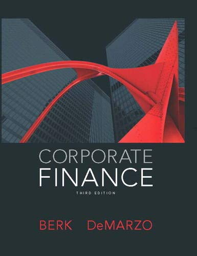 Corporate Finance By Jonathan Berk
