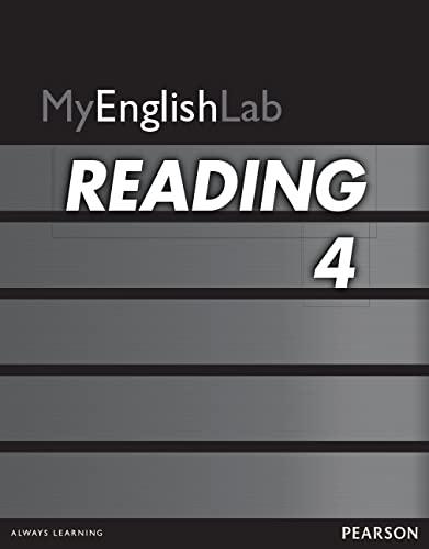 MYENGLISHLAB READING 4 ACCESS CARD 12M 324894 By Pearson ELT