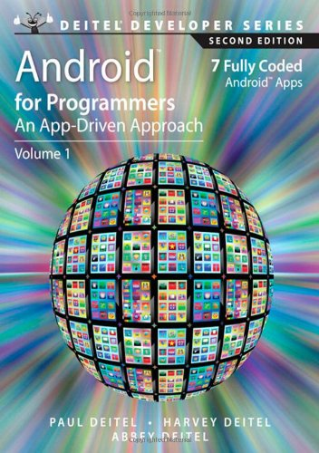 Android for Programmers By Paul J. Deitel