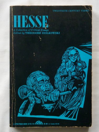 Hesse By Edited by Theodore Ziolkowski
