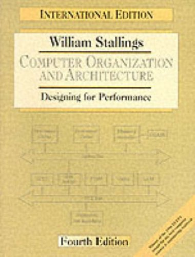 Computer Organisation and Architecture By William Stallings
