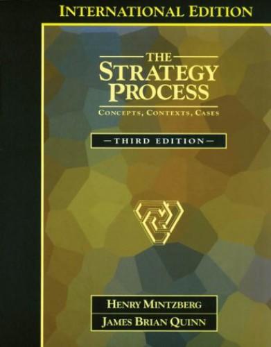 The Strategy Process By Henry Mintzberg