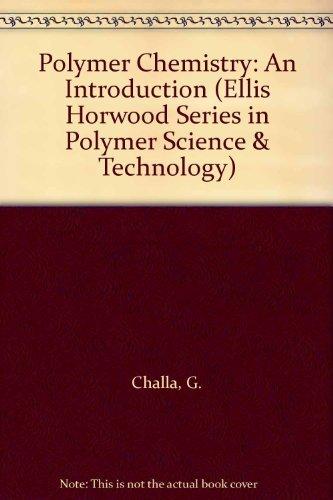 Polymer Chemistry By G. Challa