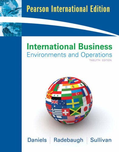 International Business: International Business International Version By John Daniels