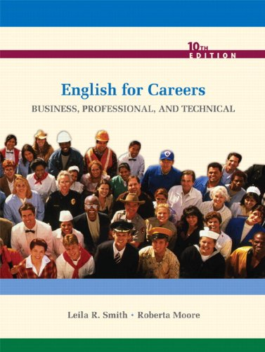 English for Careers By Leila R. Smith