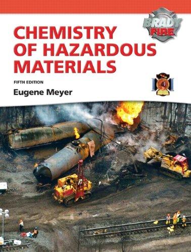 Chemistry of Hazardous Materials with MyFireKit By Eugene Meyer