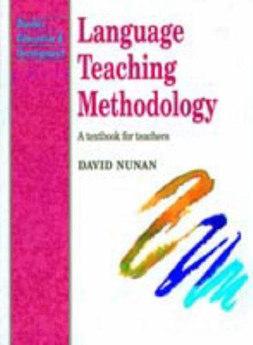Language Teaching Methodology By David Nunan
