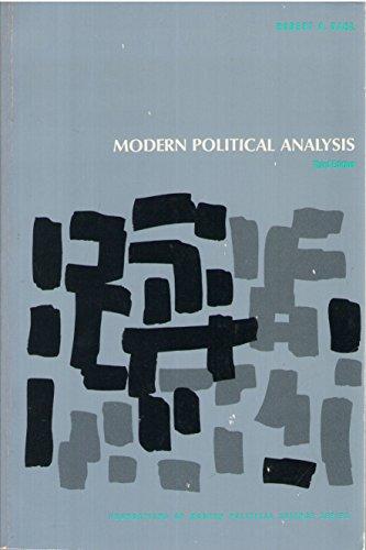 Modern Political Analysis By Robert A. Dahl