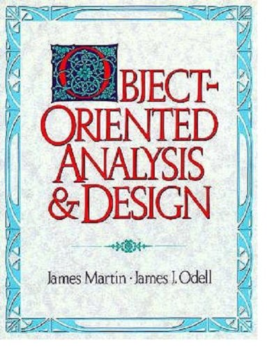 Object-oriented Analysis and Design By James Martin