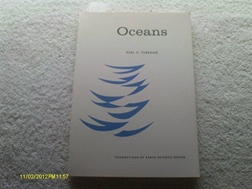 Oceans By Karl K. Turekian