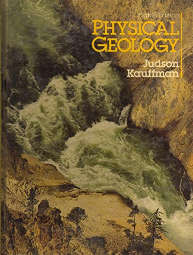 Physical Geology By Sheldon Judson