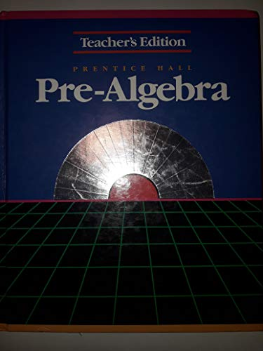Pre-Algebra TB Greens