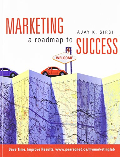 Marketing: A Roadmap to Success By K. Sirsi Ajay