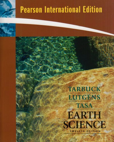 Earth Science By Edward J. Tarbuck