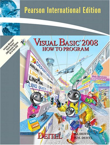 Visual Basic 2008 How to Program By Paul J. Deitel