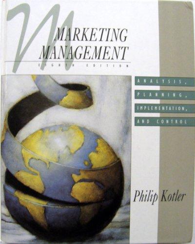 Marketing Management By Philip Kotler