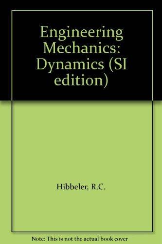 Engineering Mechanics By R.C. Hibbeler