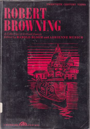 Robert Browning By Edited by Prof. Harold Bloom