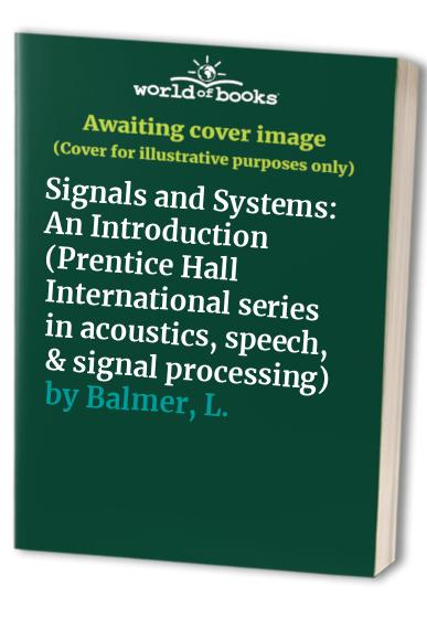 Signals and Systems By L. Balmer