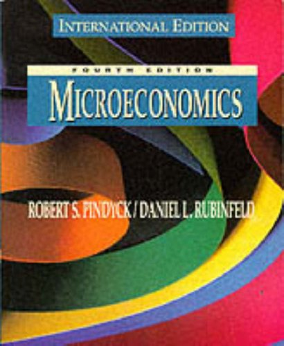 Microeconomics By Robert S. Pindyck