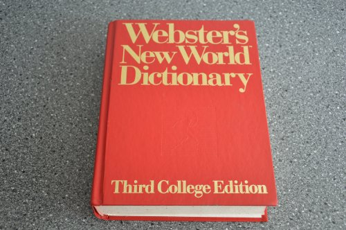 Webster's New World College Dictionary By Victoria Neufeldt