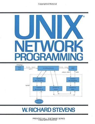 UNIX Network Programming By W. Richard Stevens