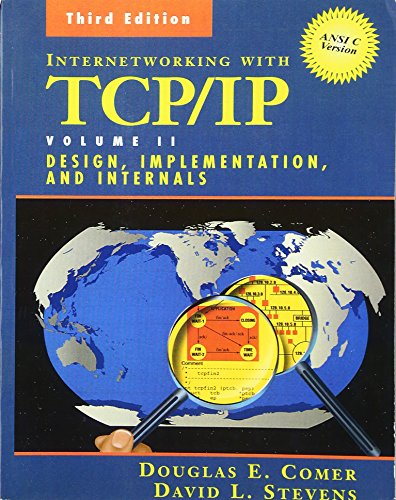 Internetworking with TCP/IP Vol. II By Douglas E. Comer