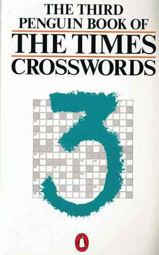 """Penguin Book of the """"Times"""" Crosswords By Volume editor Alan Cash"""