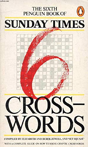 """Penguin Book of """"Sunday Times"""" Crosswords By Volume editor Elizabeth Jewell"""