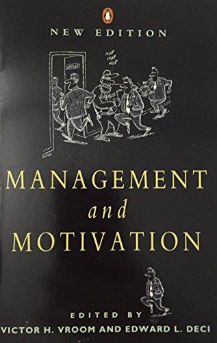 Management And Motivation