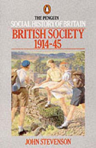 The Penguin Social History of Britain By John Stevenson