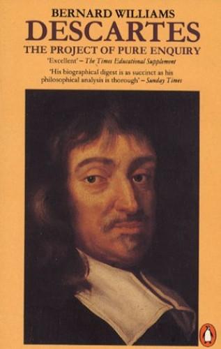 Descartes By Bernard Williams