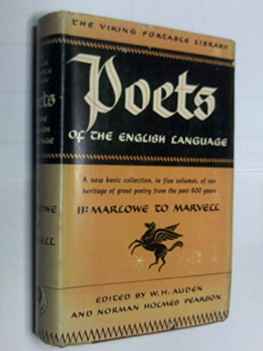 Poets of the English Language, Vol.2 By Norman Pearson