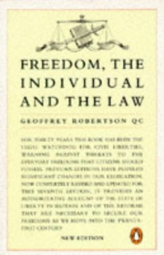 Freedom, the Individual and the Law By Harry Street