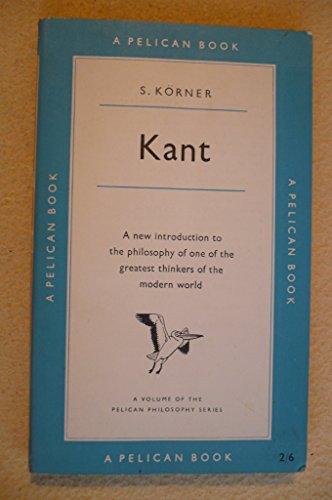 Kant By Stephan Korner