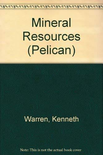 Mineral Resources By Kenneth Warren