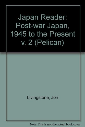 Japan Reader By Jon Livingstone