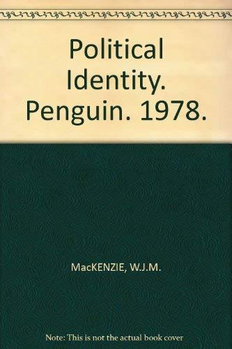 Political Identity By W. J. M. Mackenzie