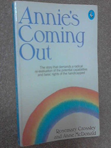 Annie's Coming out By Anne McDonald