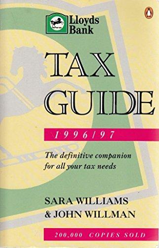 Lloyds Bank Tax Guide 1996/97 By Sara Williams