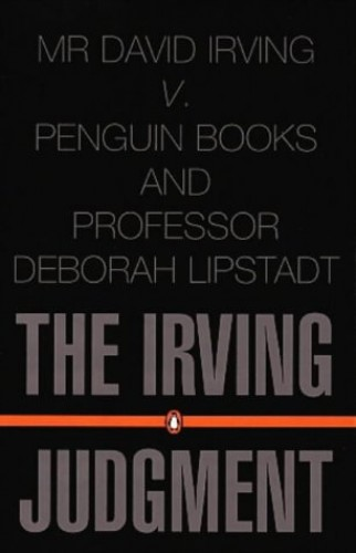 The Irving Judgment By Anon