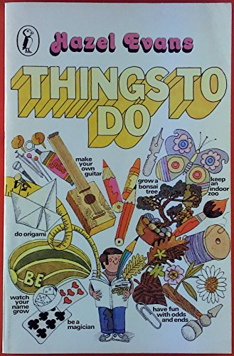 Things to Do By Hazel Evans