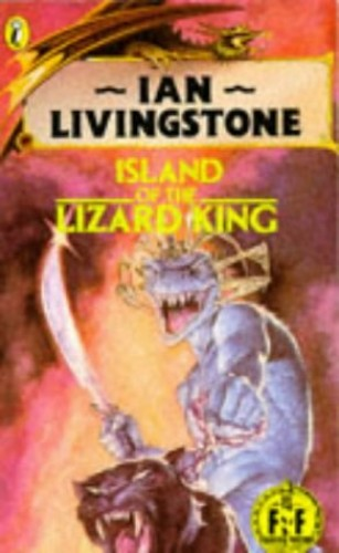 Island of the Lizard King by Ian Livingstone