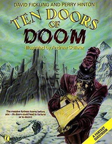 Ten Doors of Doom (Puffin Adventure Gamebooks) By David Fickling