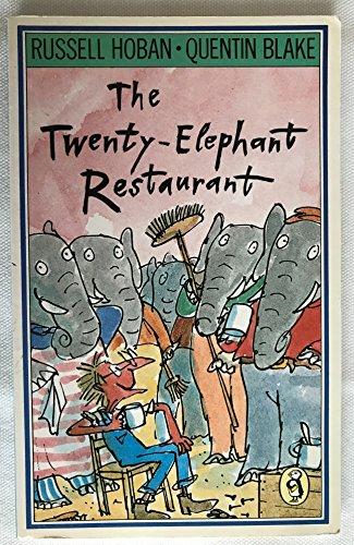 Twenty Elephant Restaurant By Russell Hoban